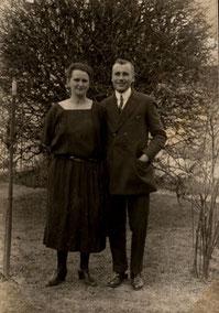 Hulda und Karl Bosse, 1925, Foto: Nachlass K. Bosse