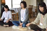 前回の瞑想会の様子