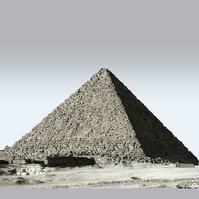 ピラミッドの写真です。