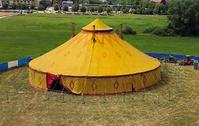 Zirkuszelt für 200-500 Personen