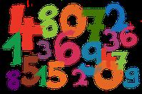 image chiffres de 0 à 9