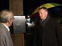 Ulrich Commercon und Dr. Kurt Bohr