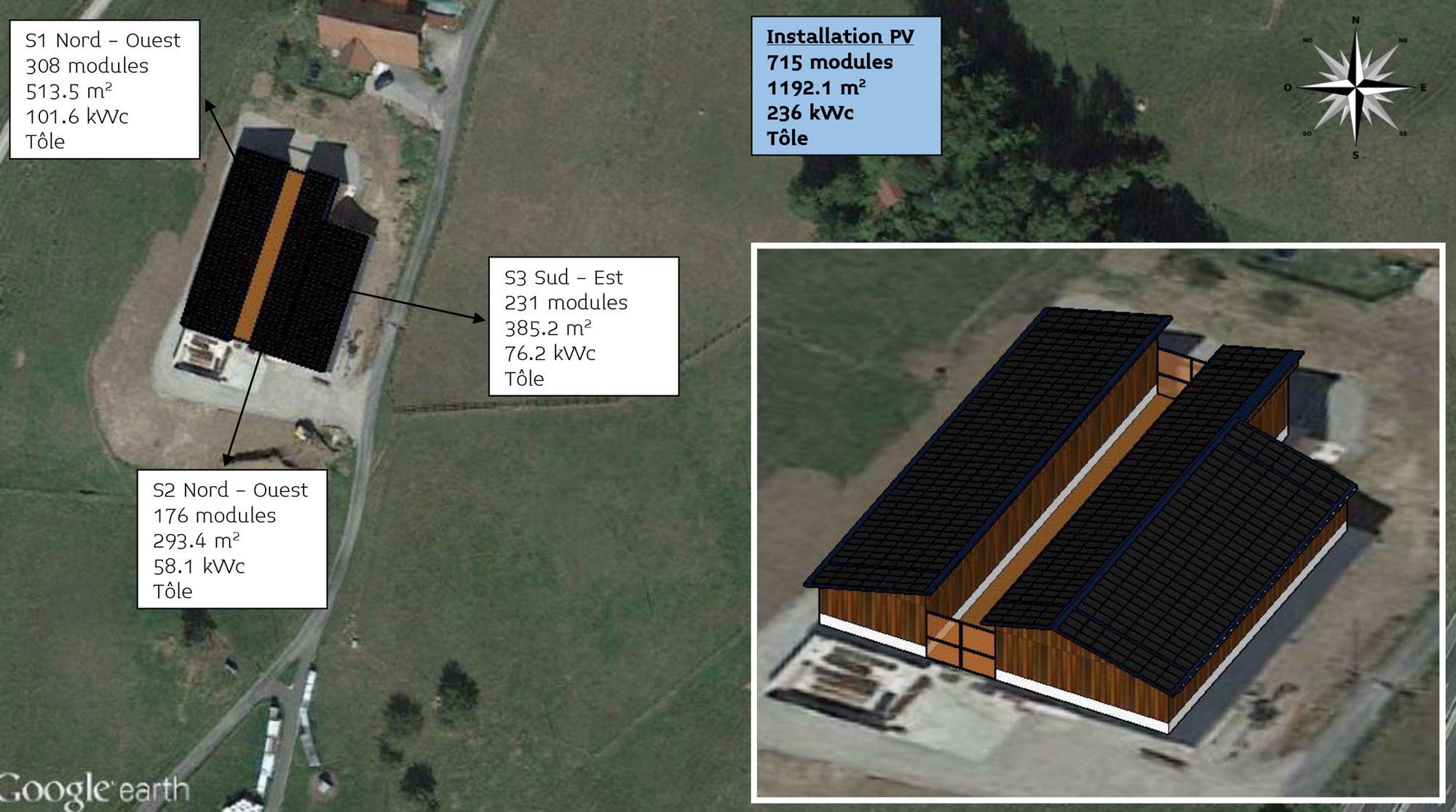 Zwei PV-Anlagen mit mehr als 420 kWp im Bau