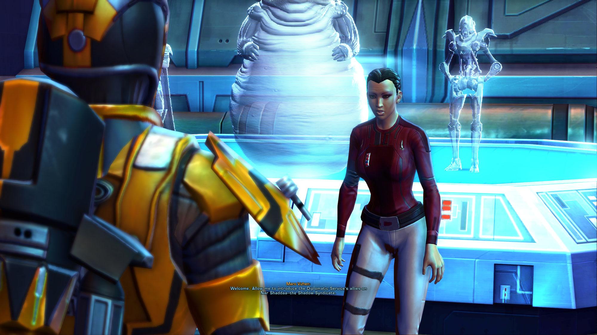 Mein Fehler: Das Schattensyndikat aus der zweiten Galactic Season existiert schon auf Nar Shaddaa