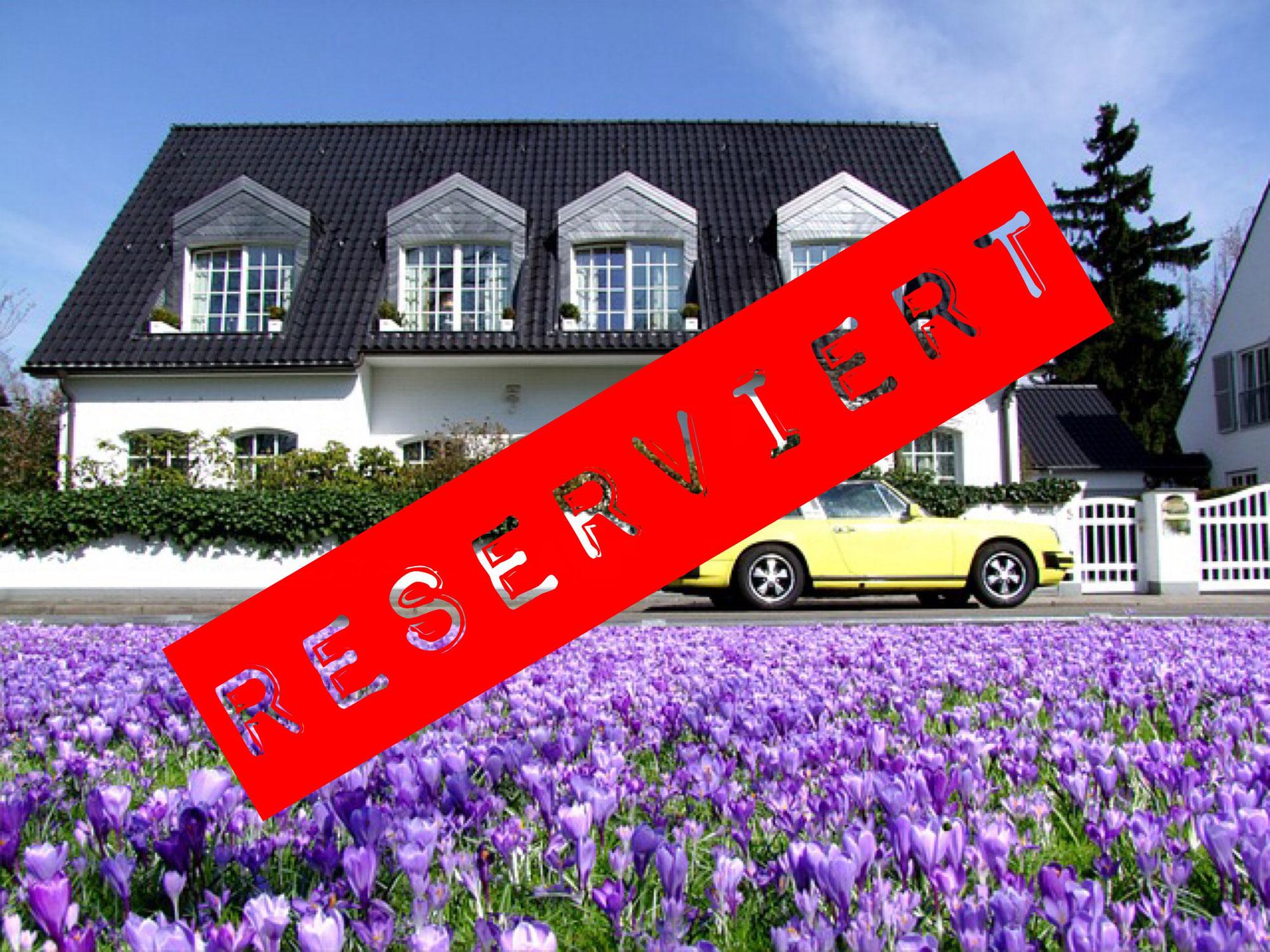 Eine Immobilie reservieren