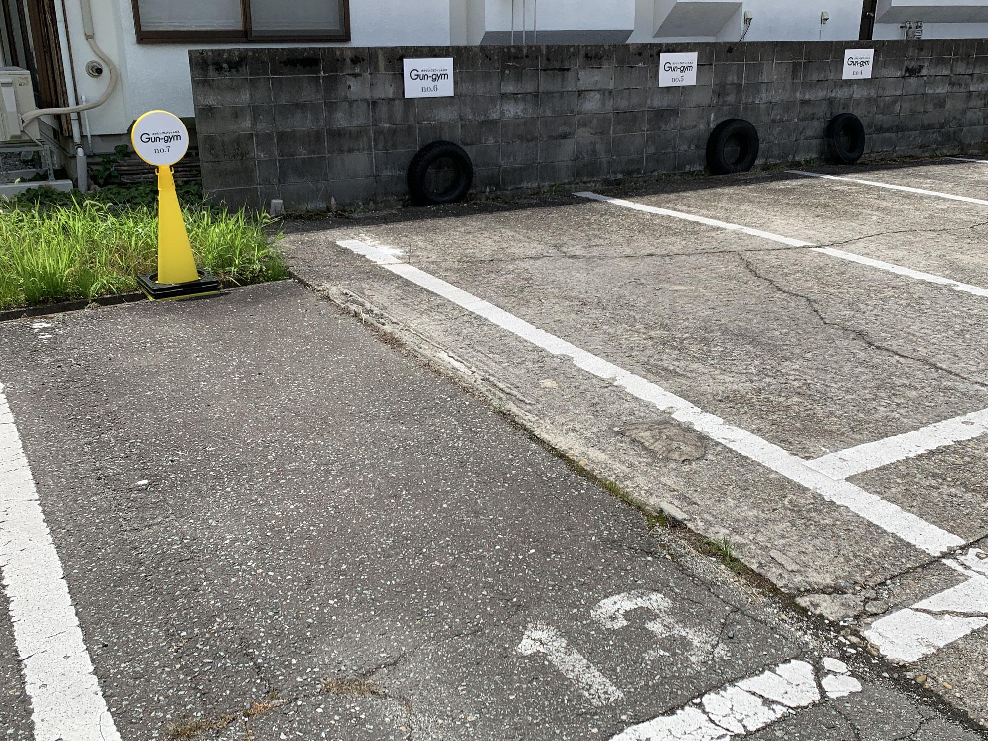 駐車場、増やしました!
