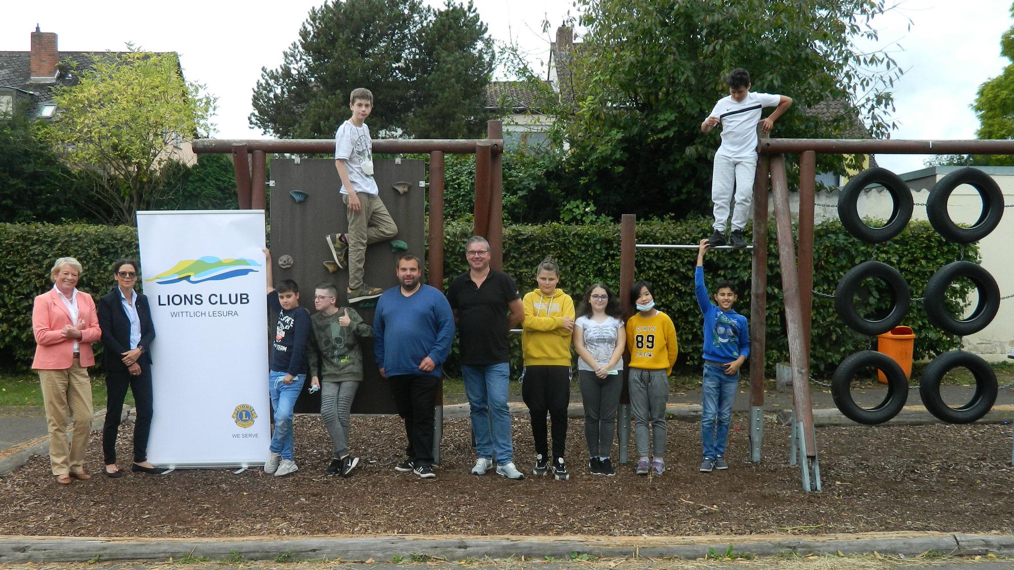 Damen-Lionsclub Wittlich - Lesura finanziert erlebnispädagogisches Projekt an der Clara-Viebig-Realschule plus