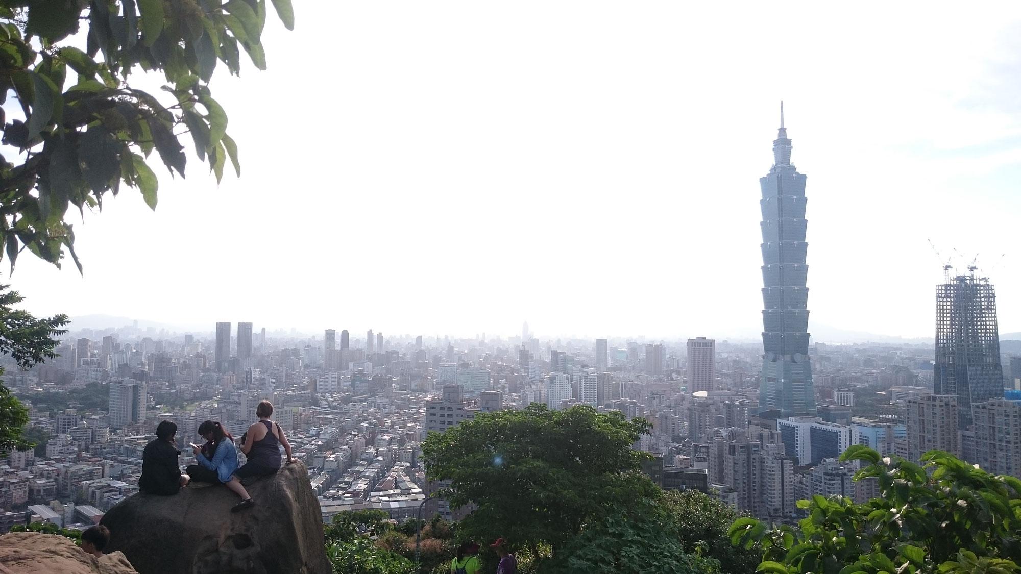 【象山】台北観光でおすすめ!台北を一望できます!