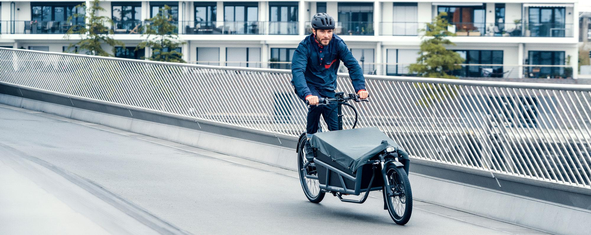 Jetzt 25% sparen mit BMU Förderung für E-Lastenräder