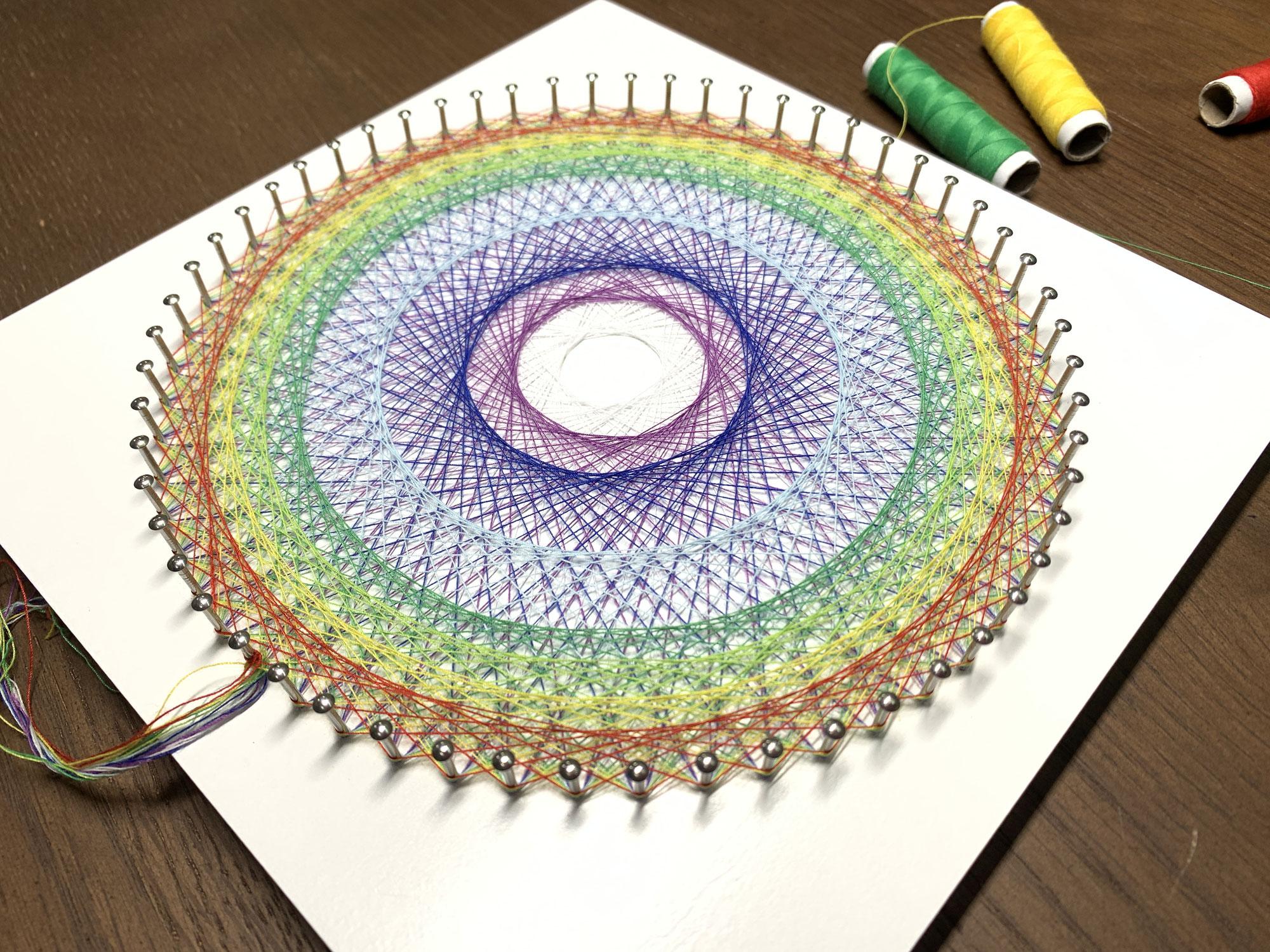 糸かけ曼荼羅を素数以外で作る方法