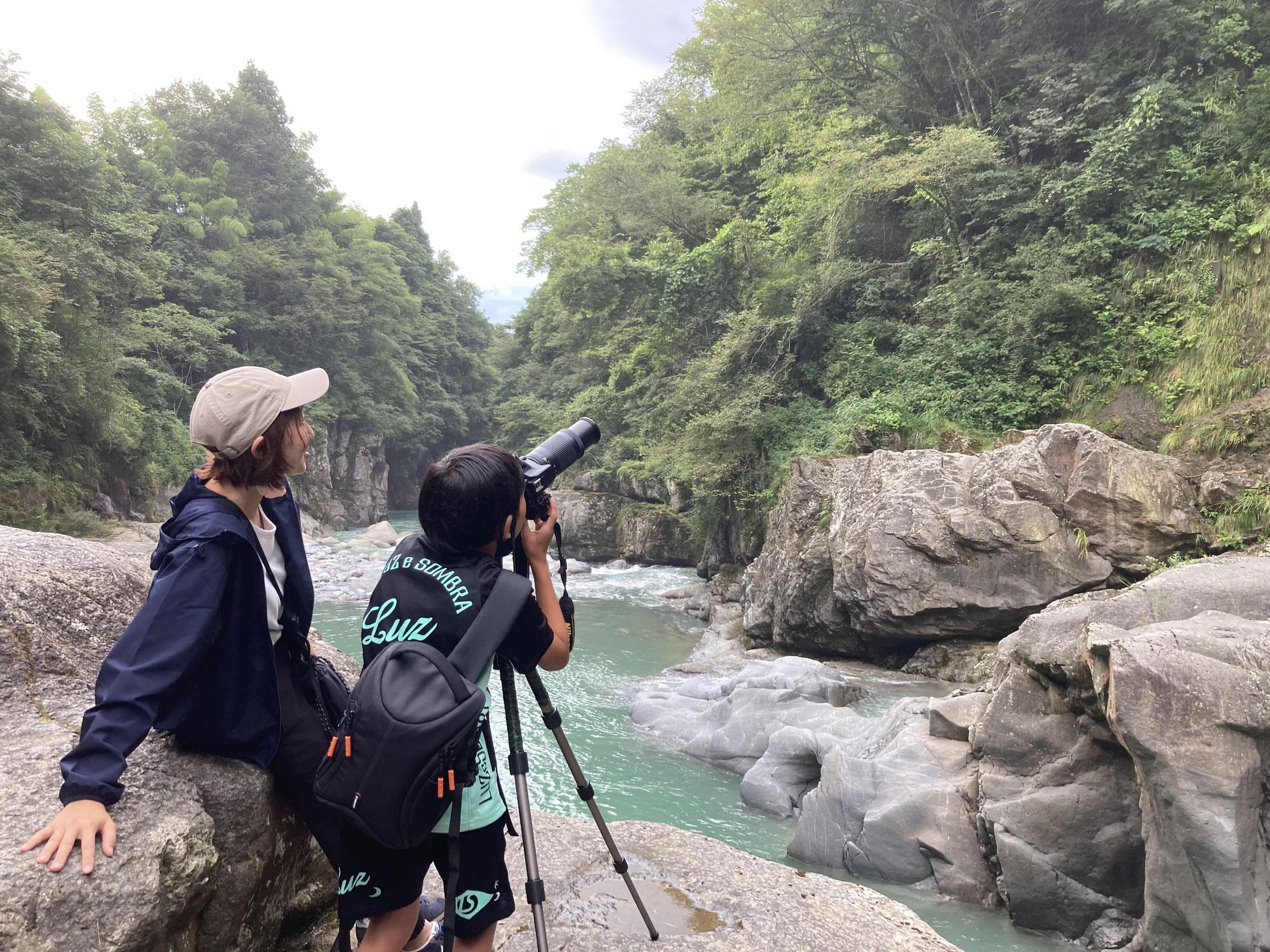 綿ヶ滝での撮影会