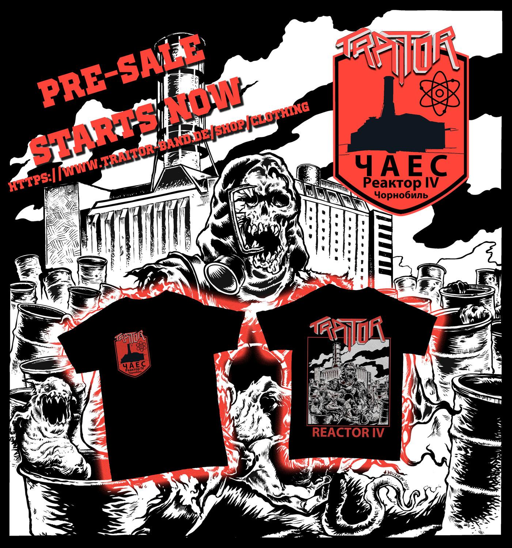 JETZT im Vorverkauf: neue REACTOR IV Shirts