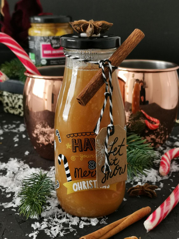 Weihnachtlicher Glühweinsirup