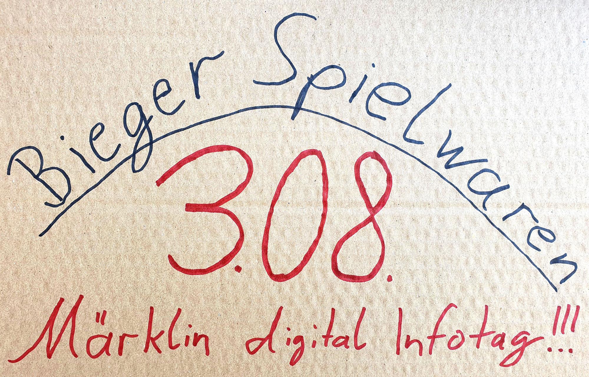 03.08.21 - Märklin digital Infotag bei Bieger Spielwaren