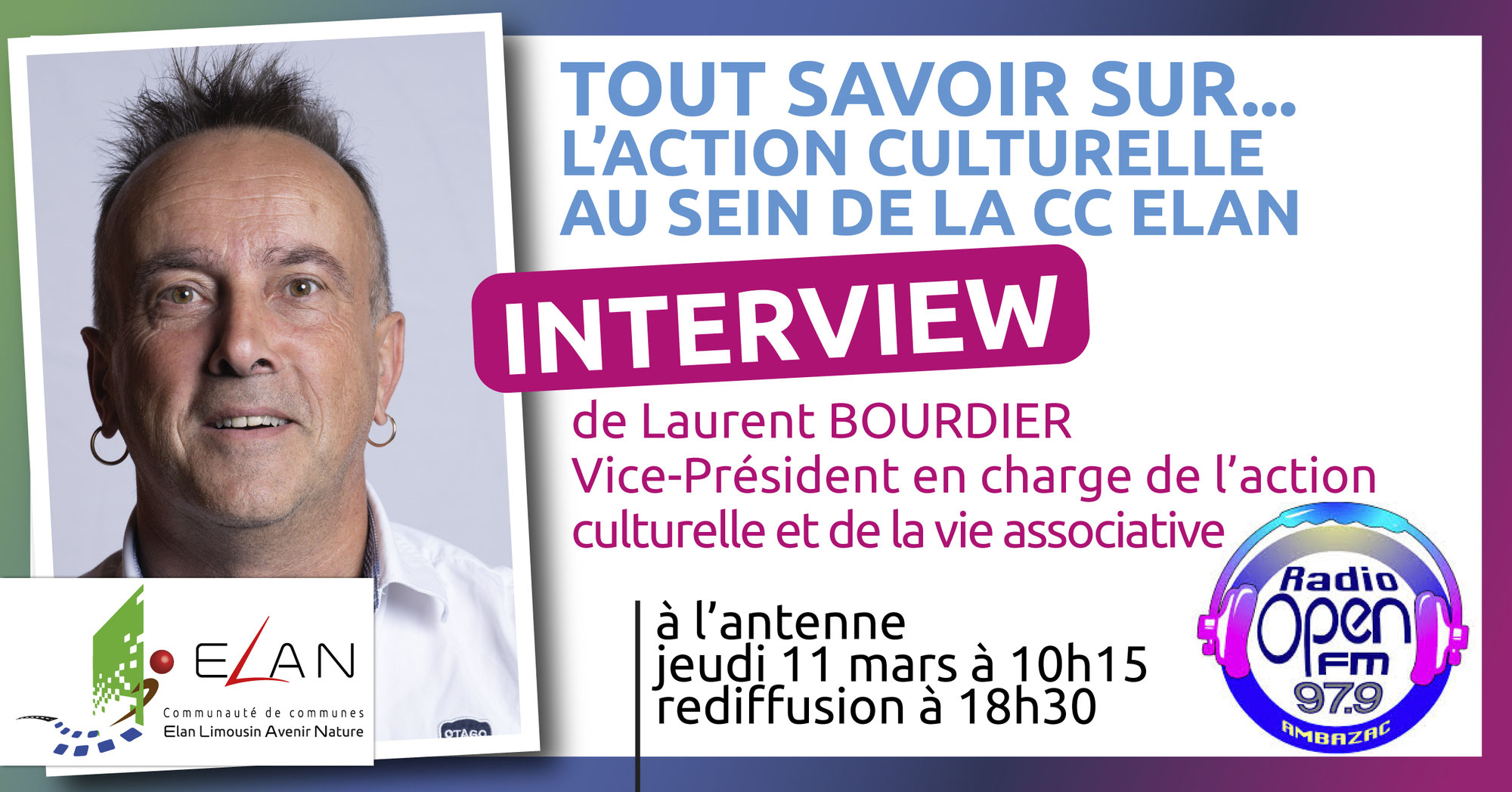 Interview Laurent BOURDIER