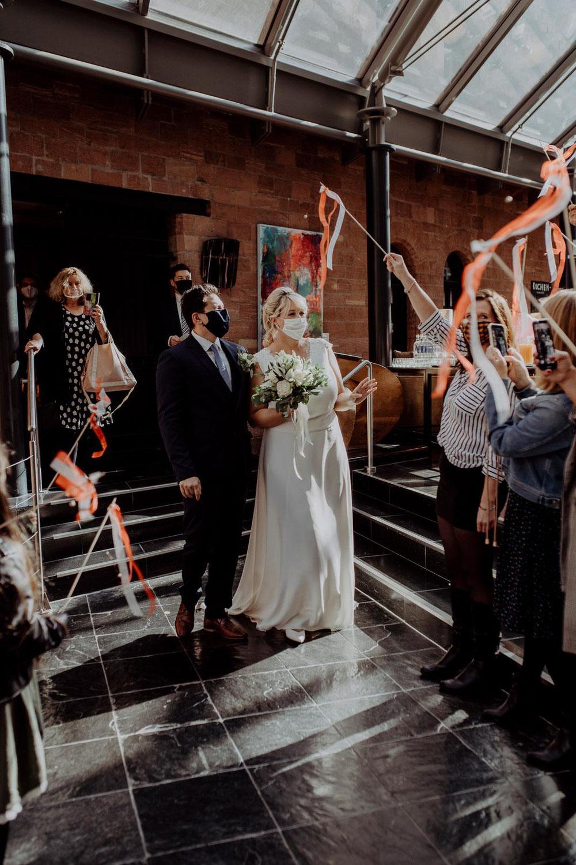 Corona Hochzeit 2020 - was ein Jahr für Mirja und Dennis