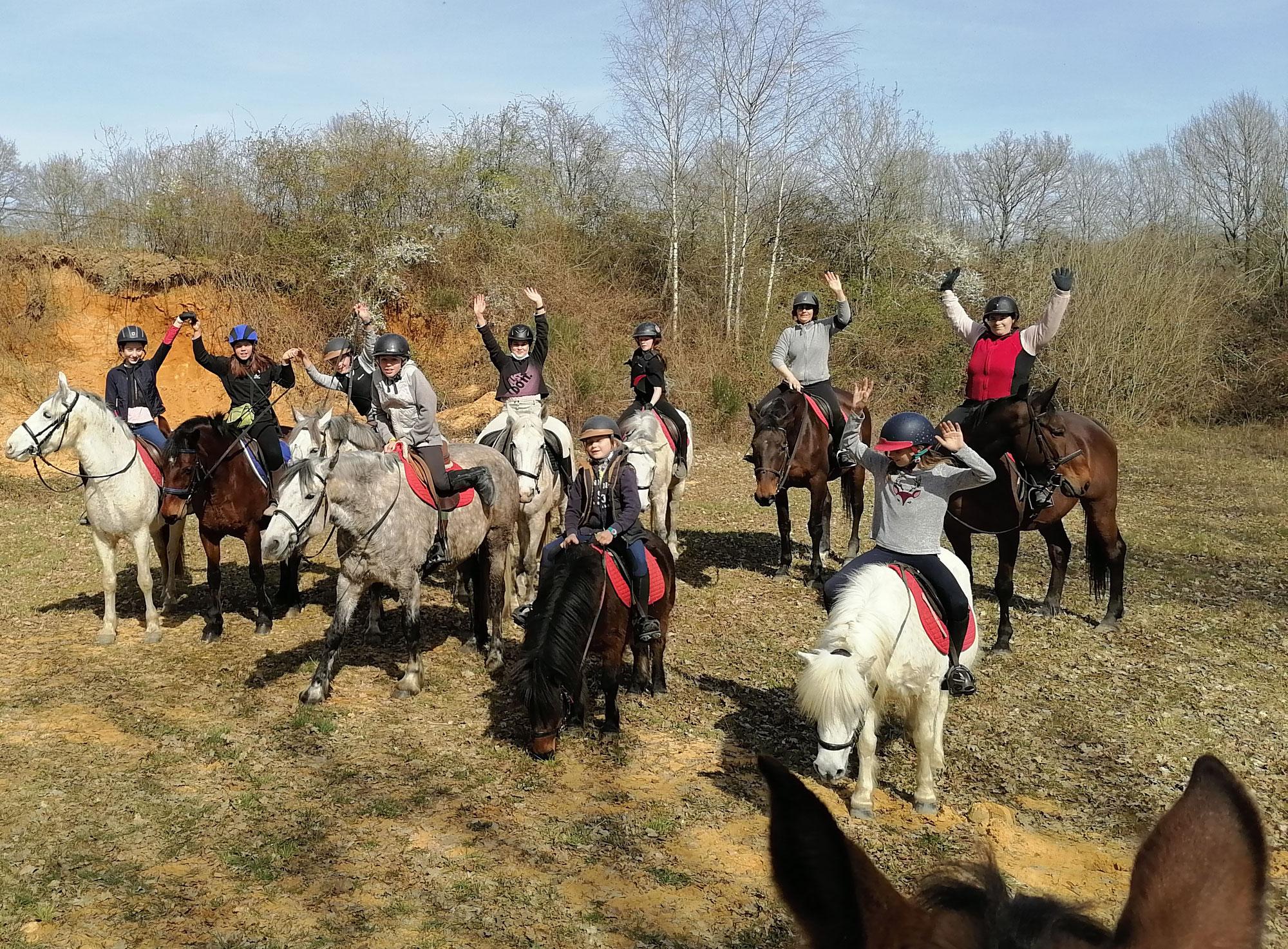 Rallye Photo à cheval...superbe !
