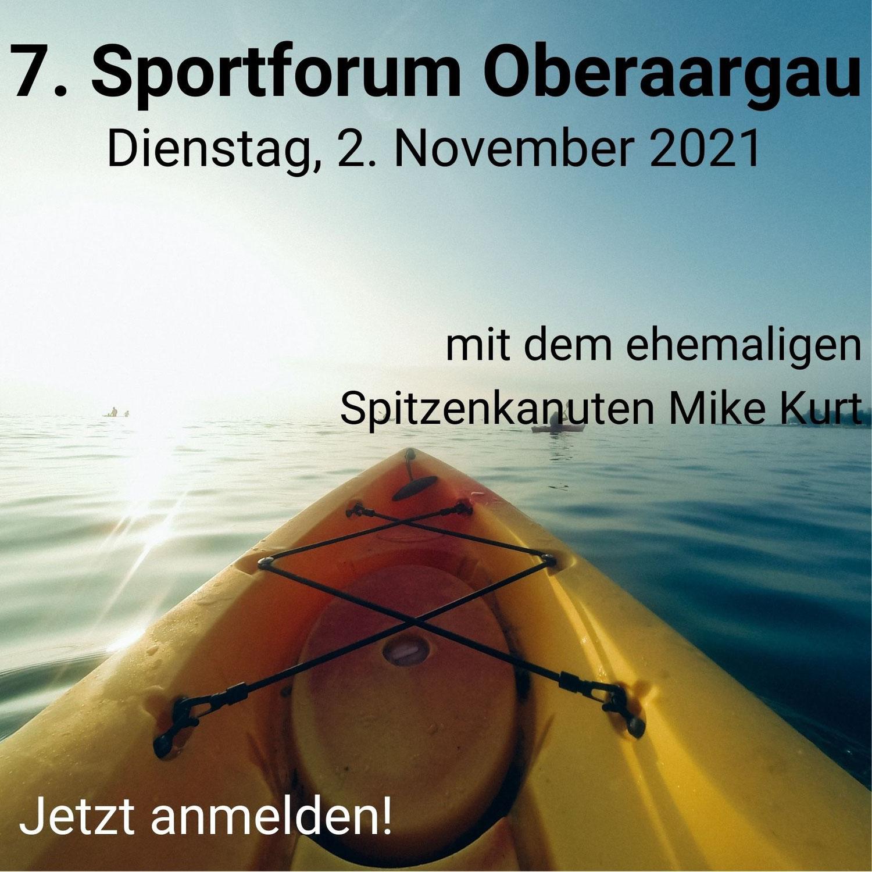 Sportforum: Jetzt anmelden!