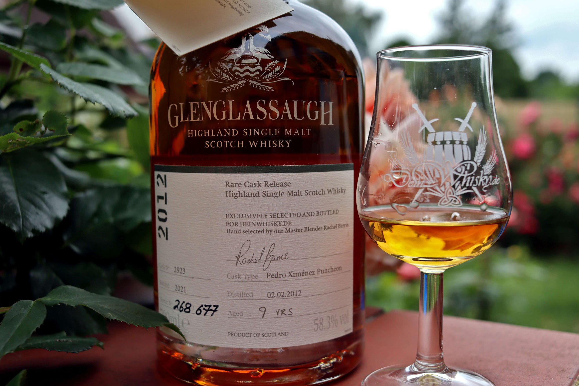Whiskybesprechung #205: Glenglassaugh 2012/2021 für deinwhisky.de