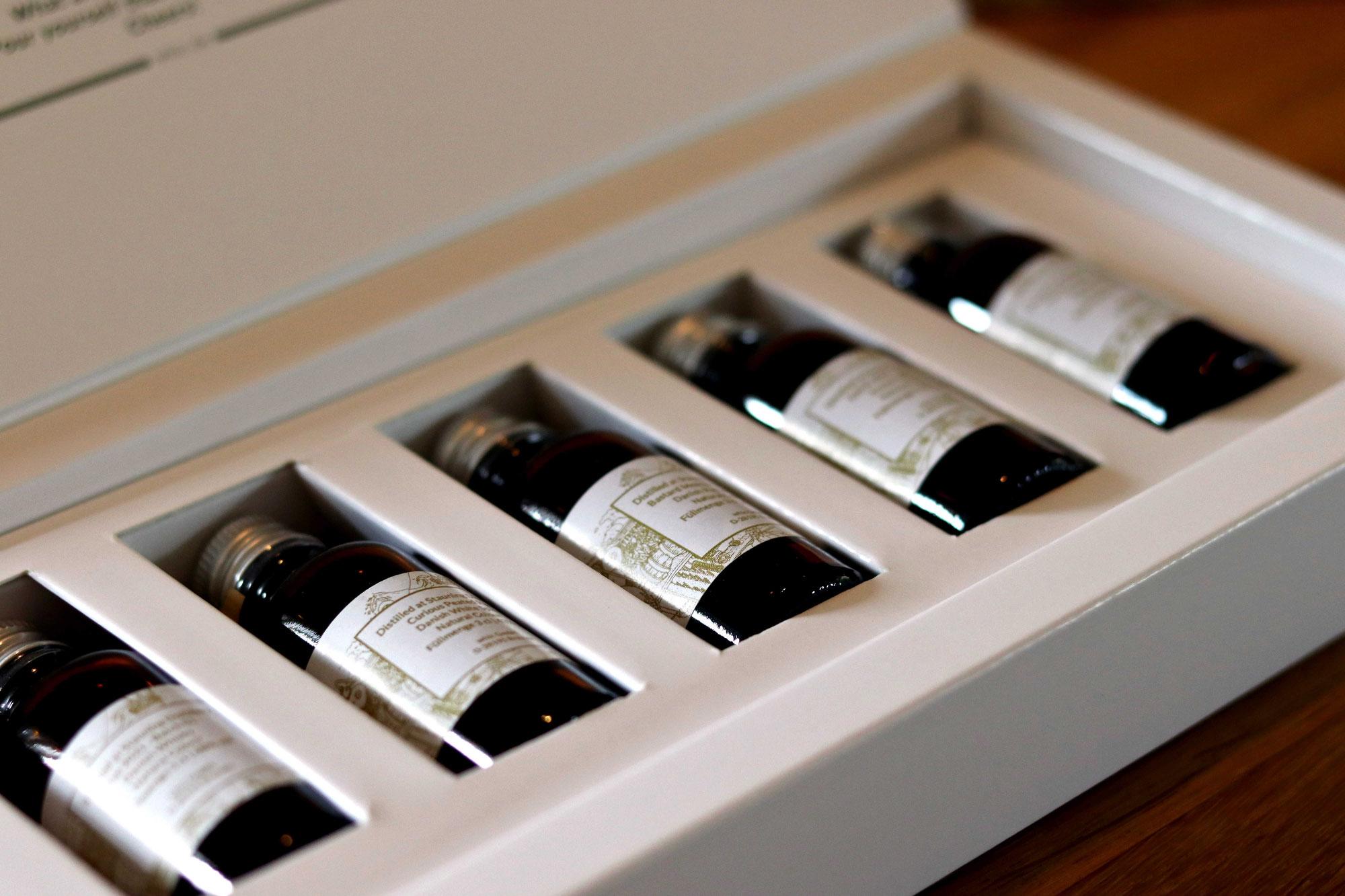 Whiskybesprechung #206: Stauning Tasting Set (Mezcal Finish, Peated Rye, KAOS, Rye, Smoke)