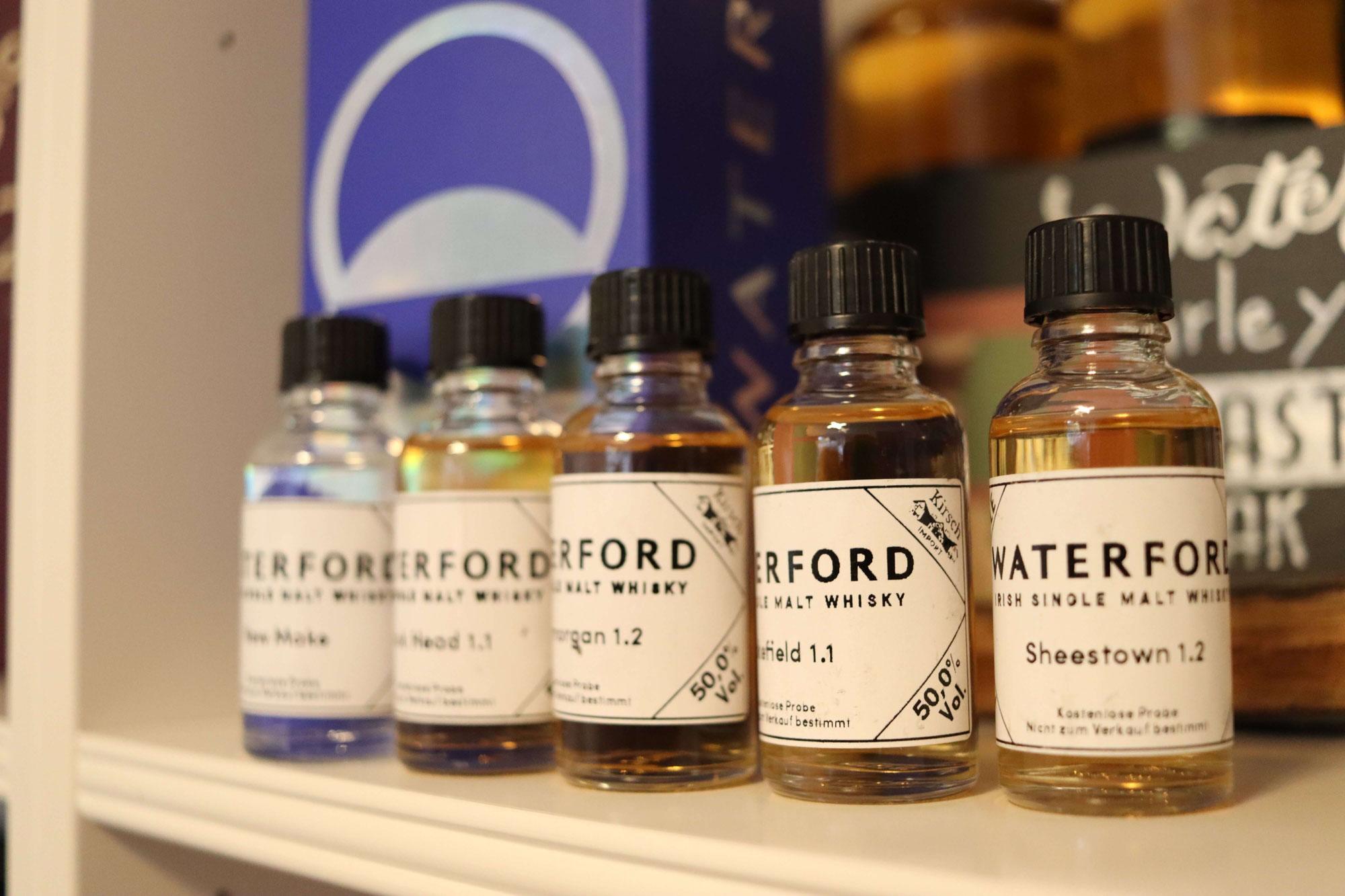 Whiskybesprechung #201: Waterford Tinnashrule & ein Abend mit Mark Reynier