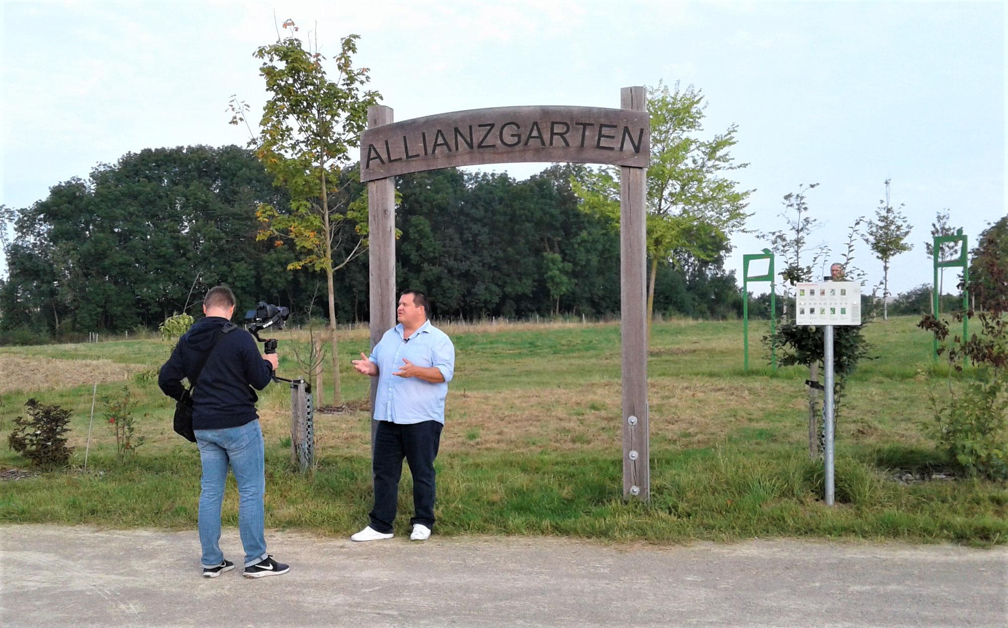Fernsehkoch Wolfgang Link zu Gast im Allianzgarten