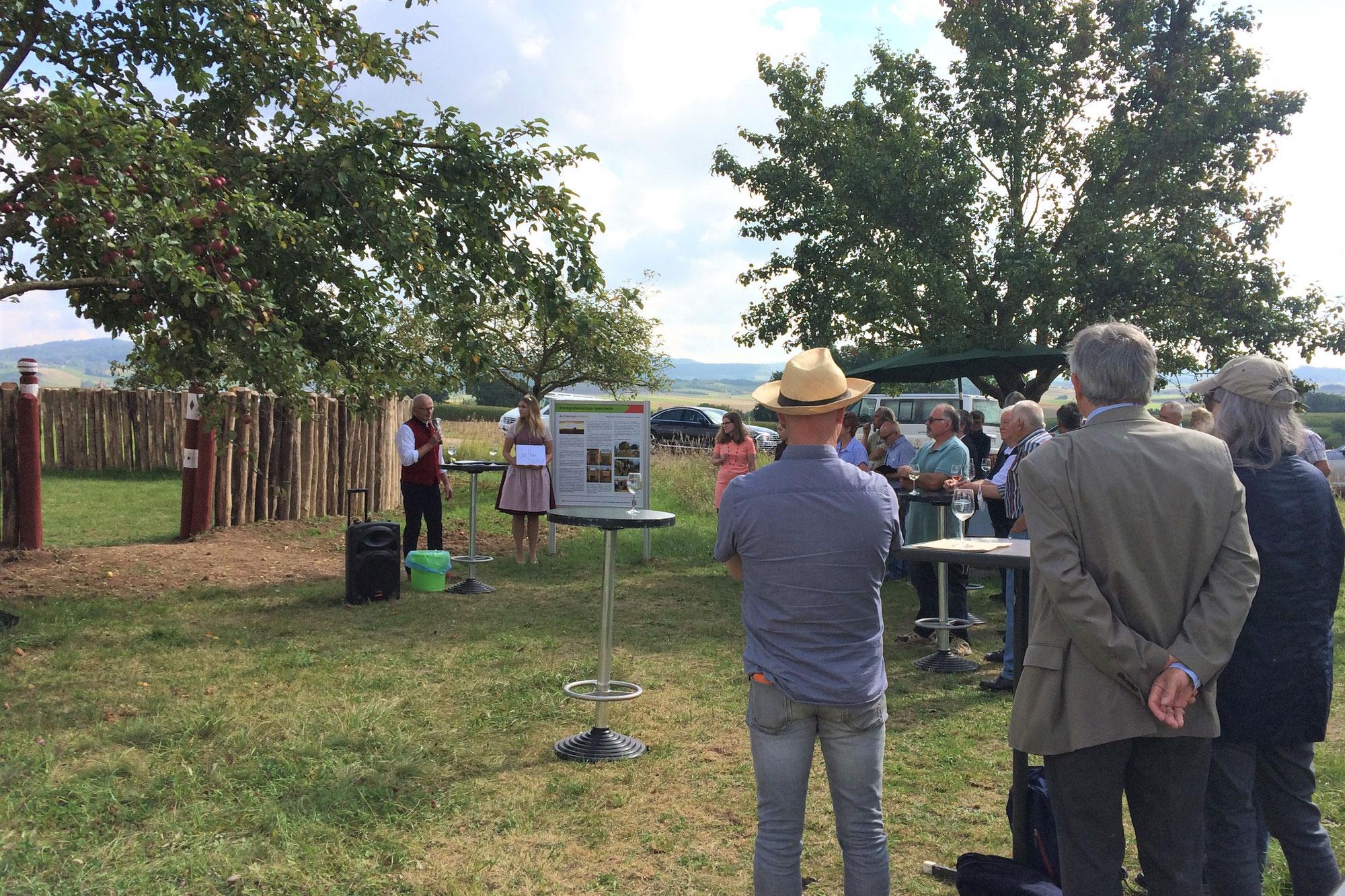 Kreisgrabenanlage Ippesheim eingeweiht