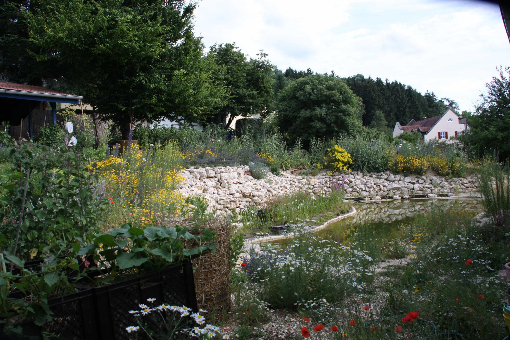 3 Zonen Garten Hortus Aquaveganum