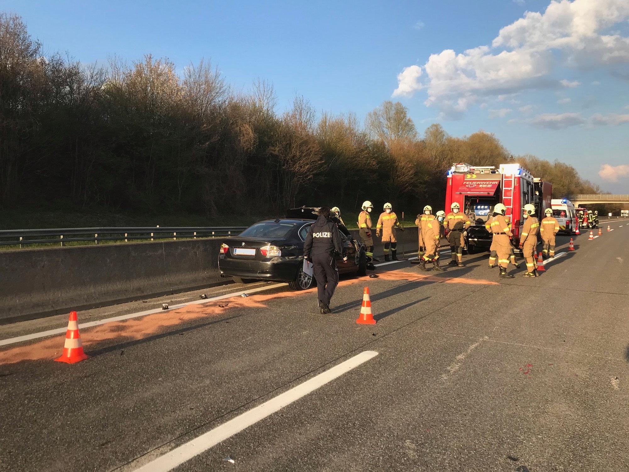 Verkehrsunfall A1