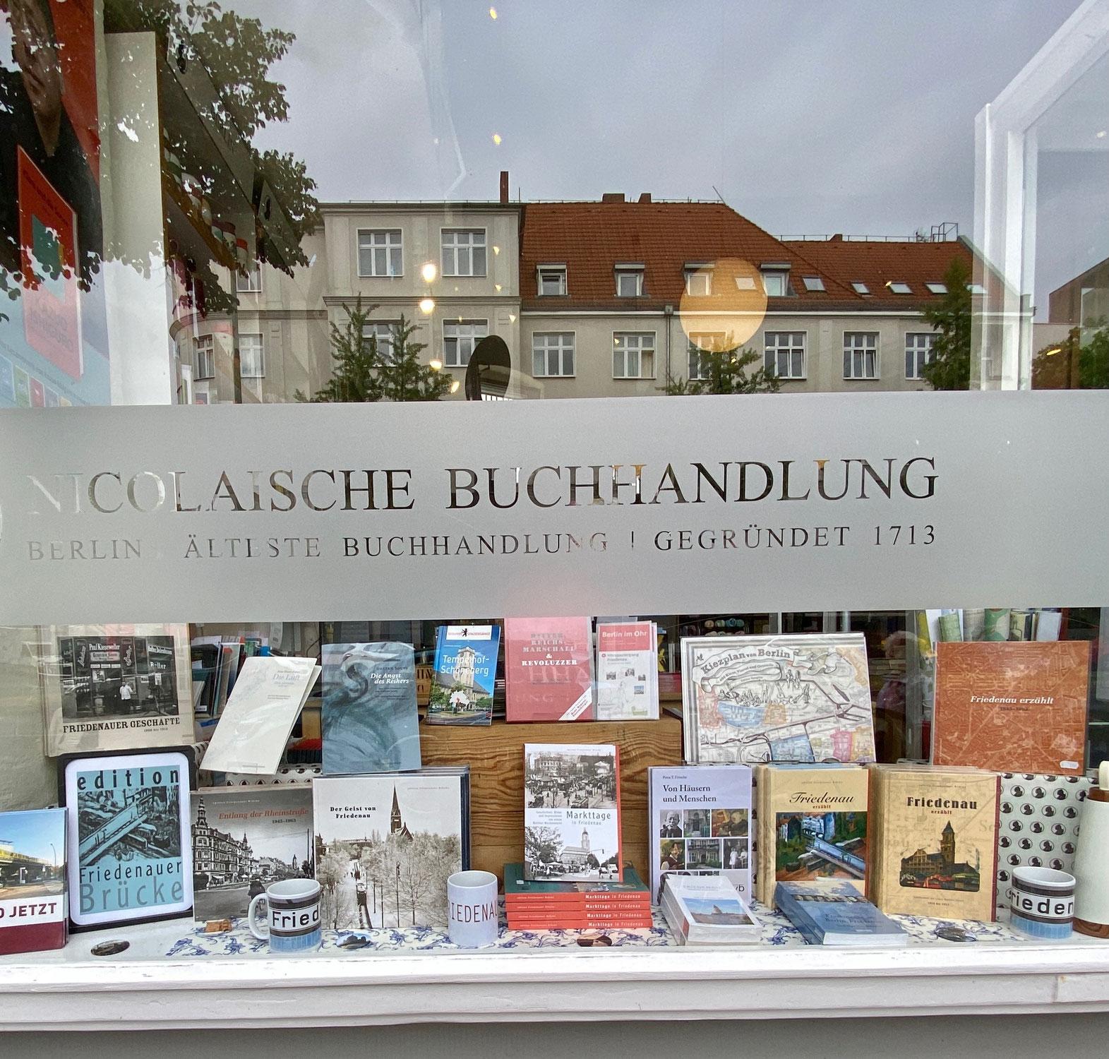 Aus dem Newsletter der Nicolaischen Buchhandlung