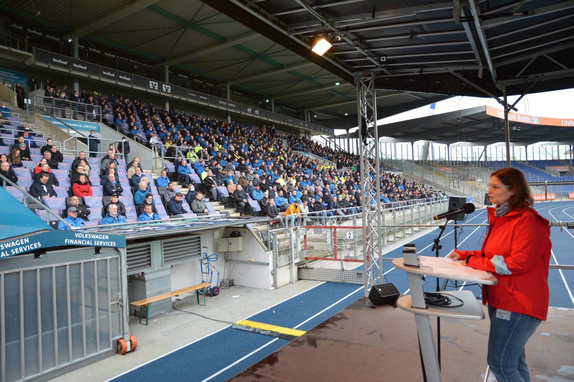 Erste Betriebsversammlung in Braunschweig nach langer Corona-Pause