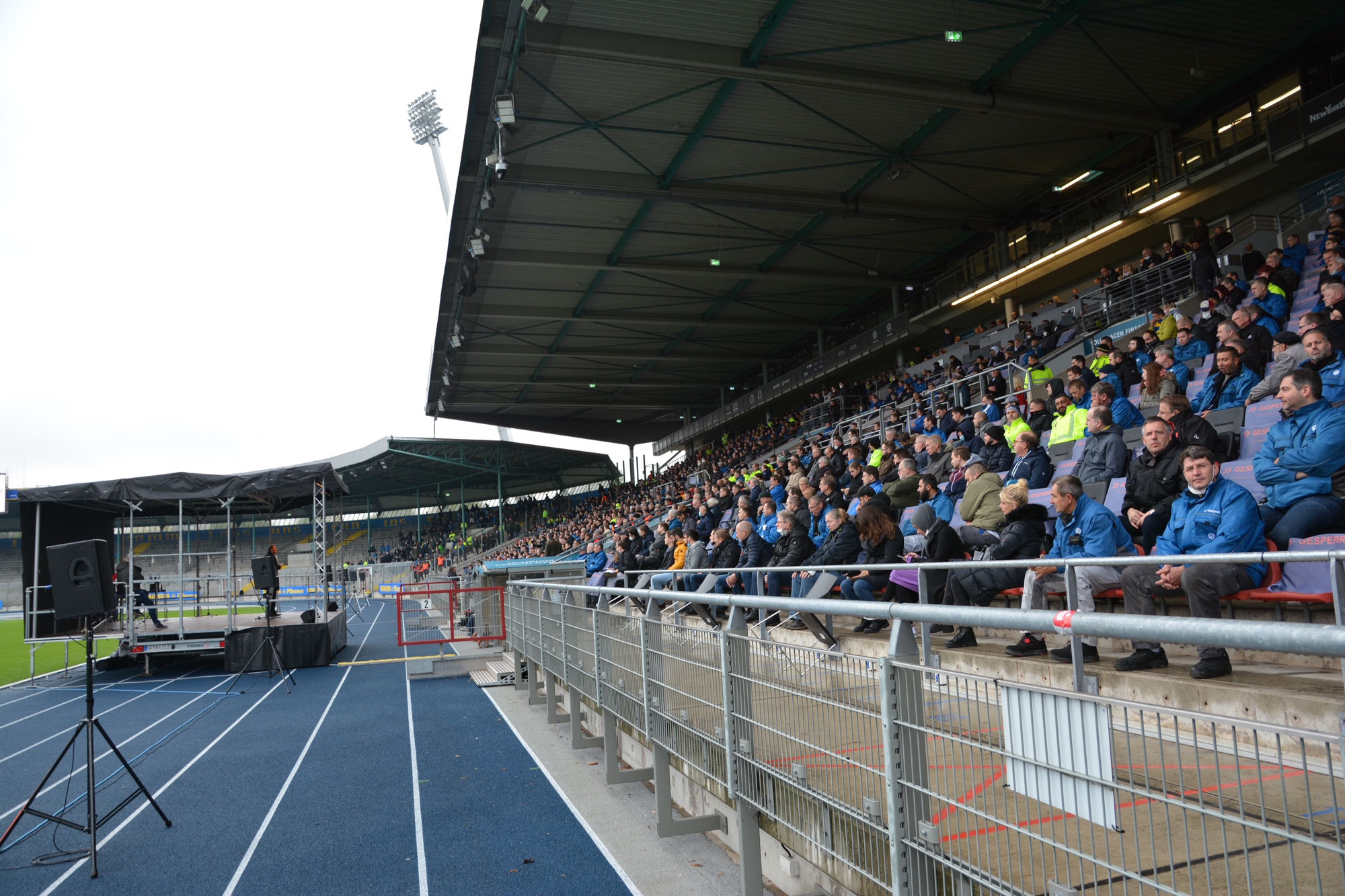 Betriebsversammlung im Eintracht Stadion - 14.10.2021