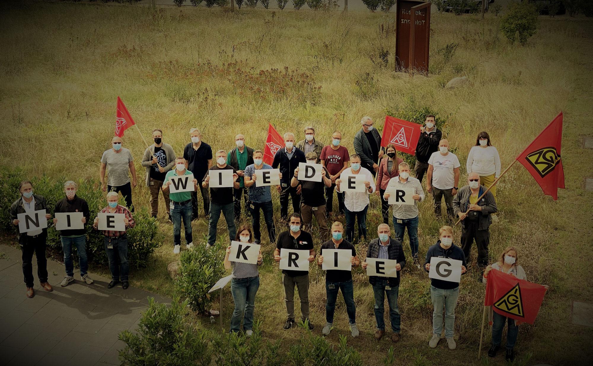 Nie wieder Krieg! Nie wieder Faschismus!