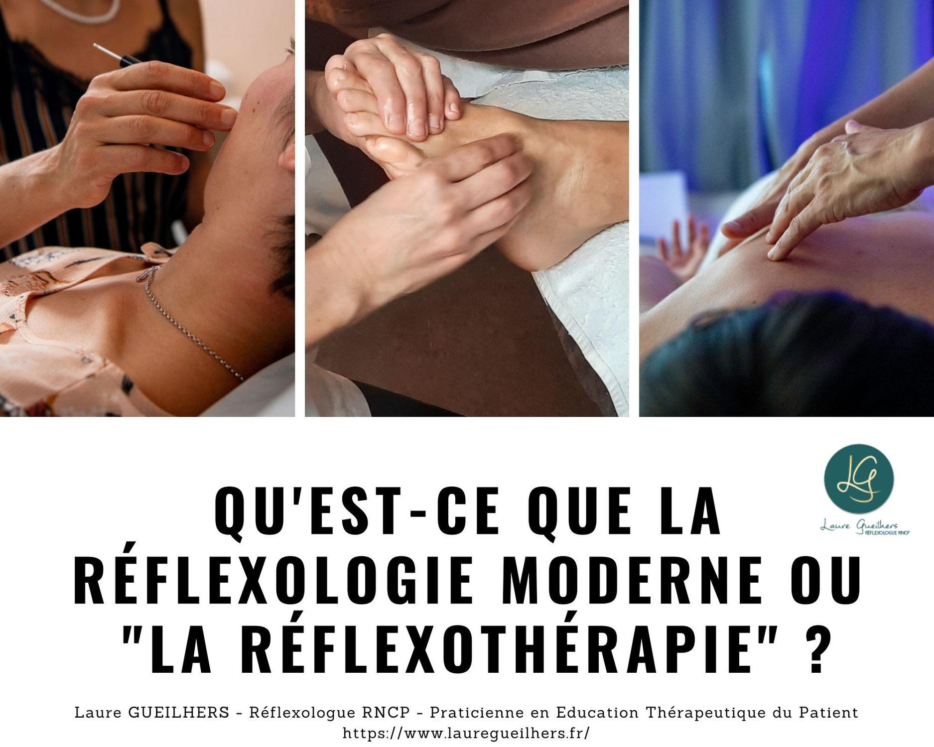 """Qu'est-ce que la réflexologie moderne ou """"la réflexothérapie"""" ?"""