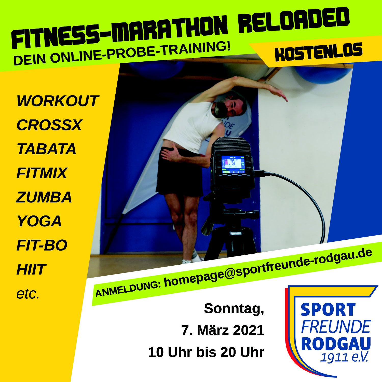 """07.03.2021 Fitness Marathon """"reloaded"""""""
