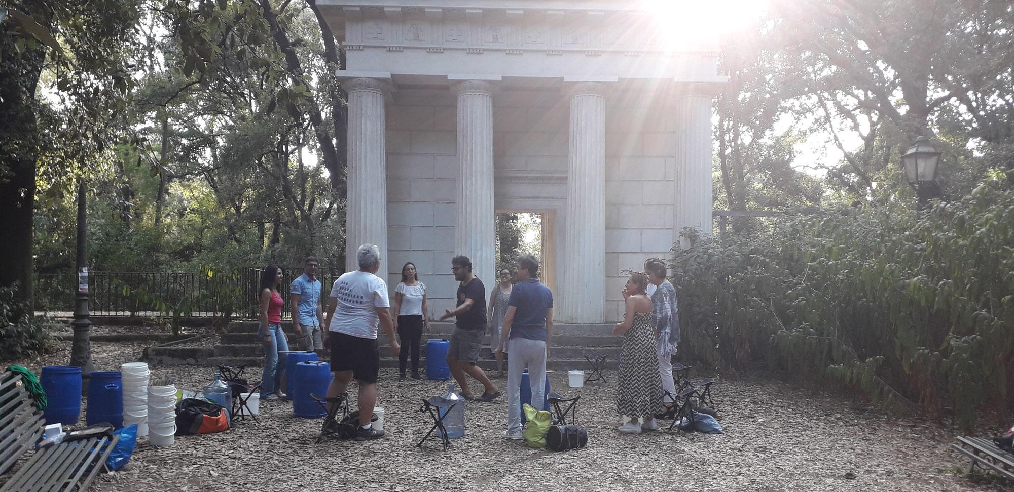 Circular Music in Rome