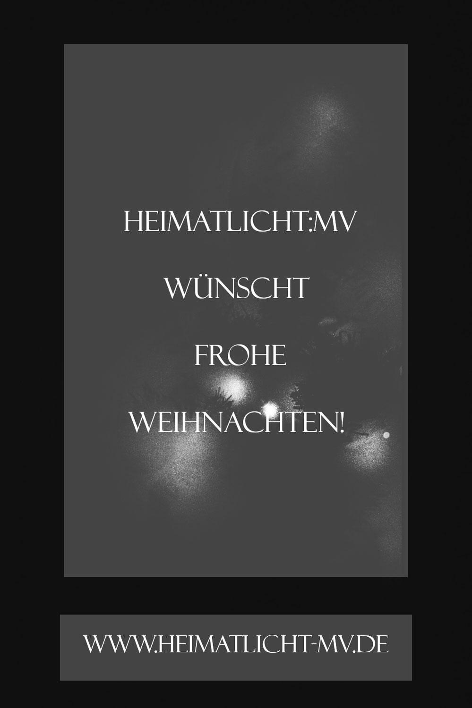Heimatlicht:MV wünscht frohe Weihnachten!