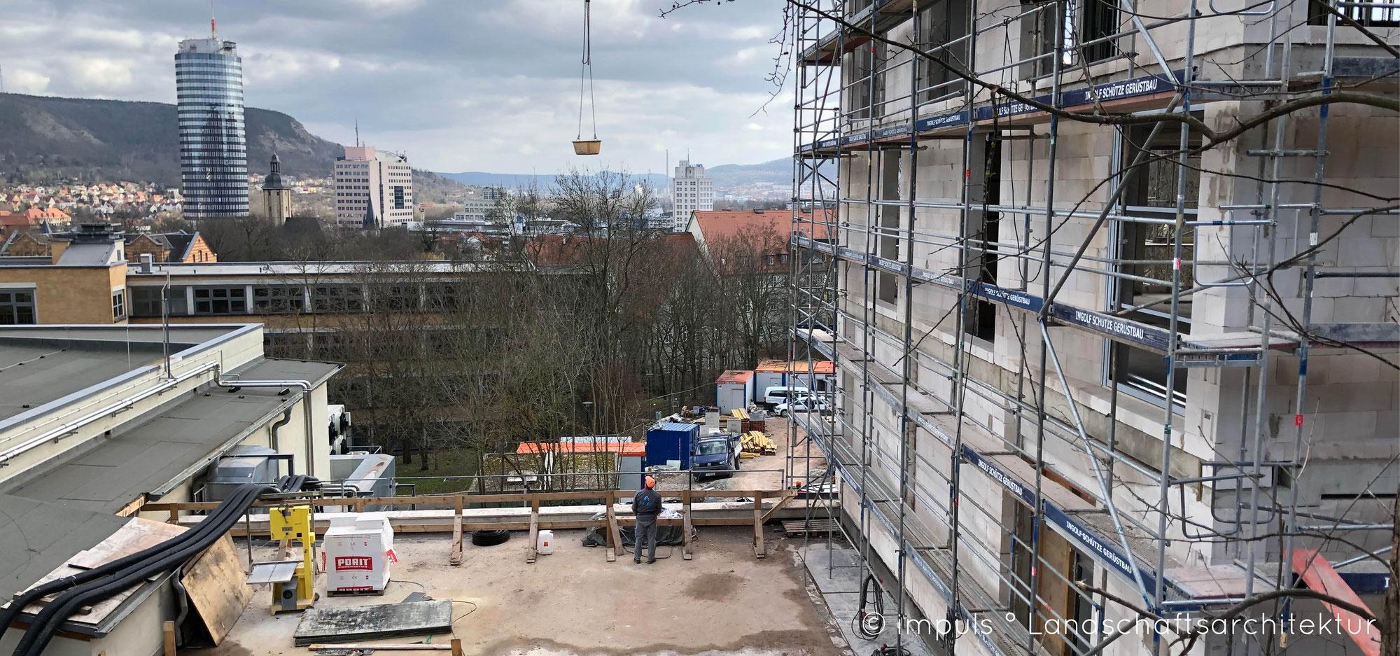 (K)ein Richtfest am Helmholtz-Institut Jena