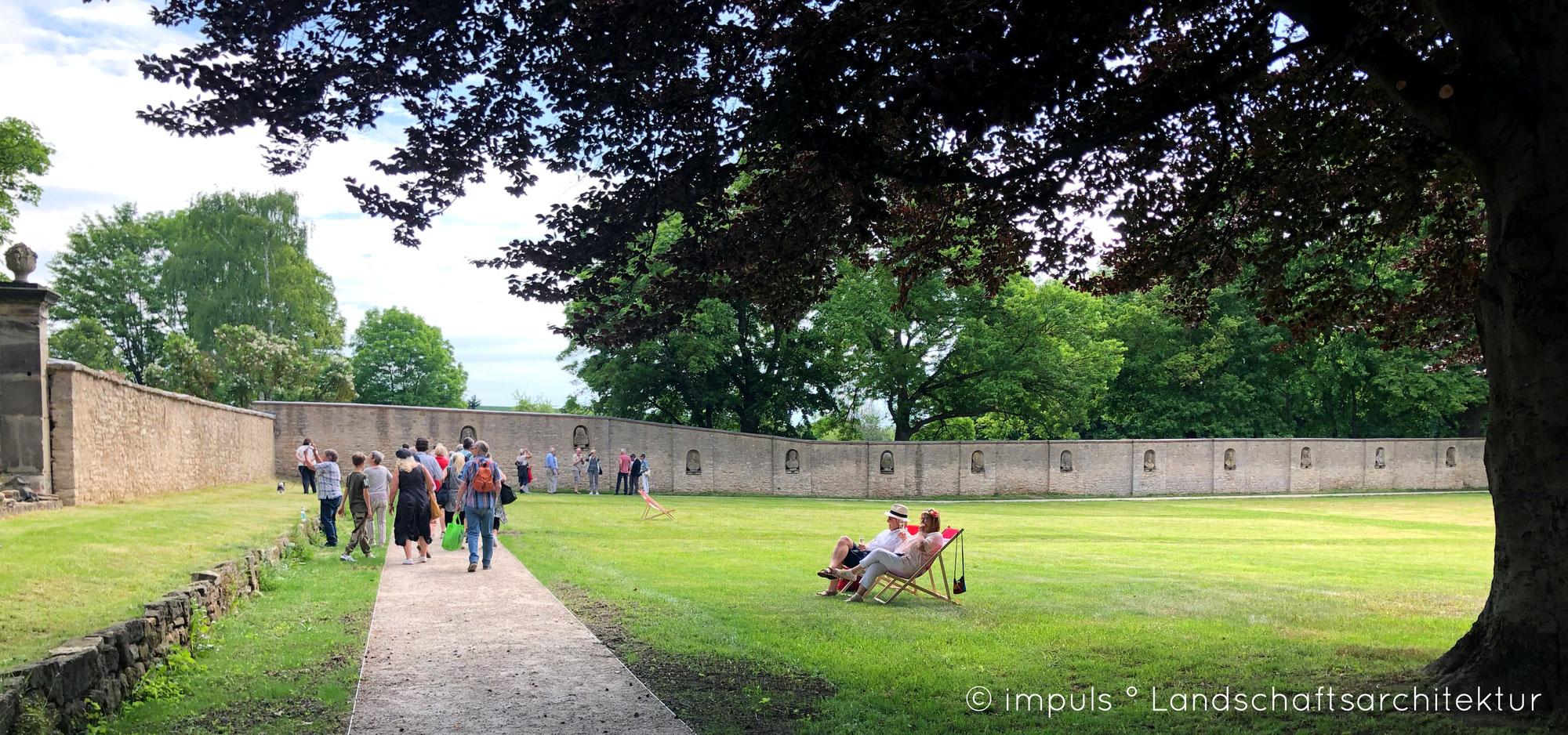 Der Außenstandort Schlosspark Kromsdorf der BUGA 2021 in Erfurt wurde eingeweiht