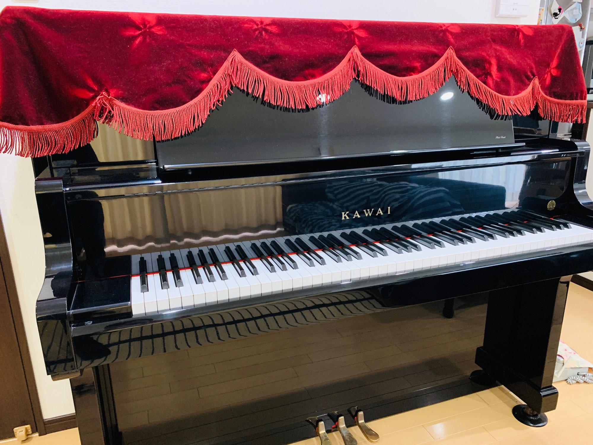 ピカピカで、別のピアノのようで、とてもうれしくなりました(修理/カイザー/35)