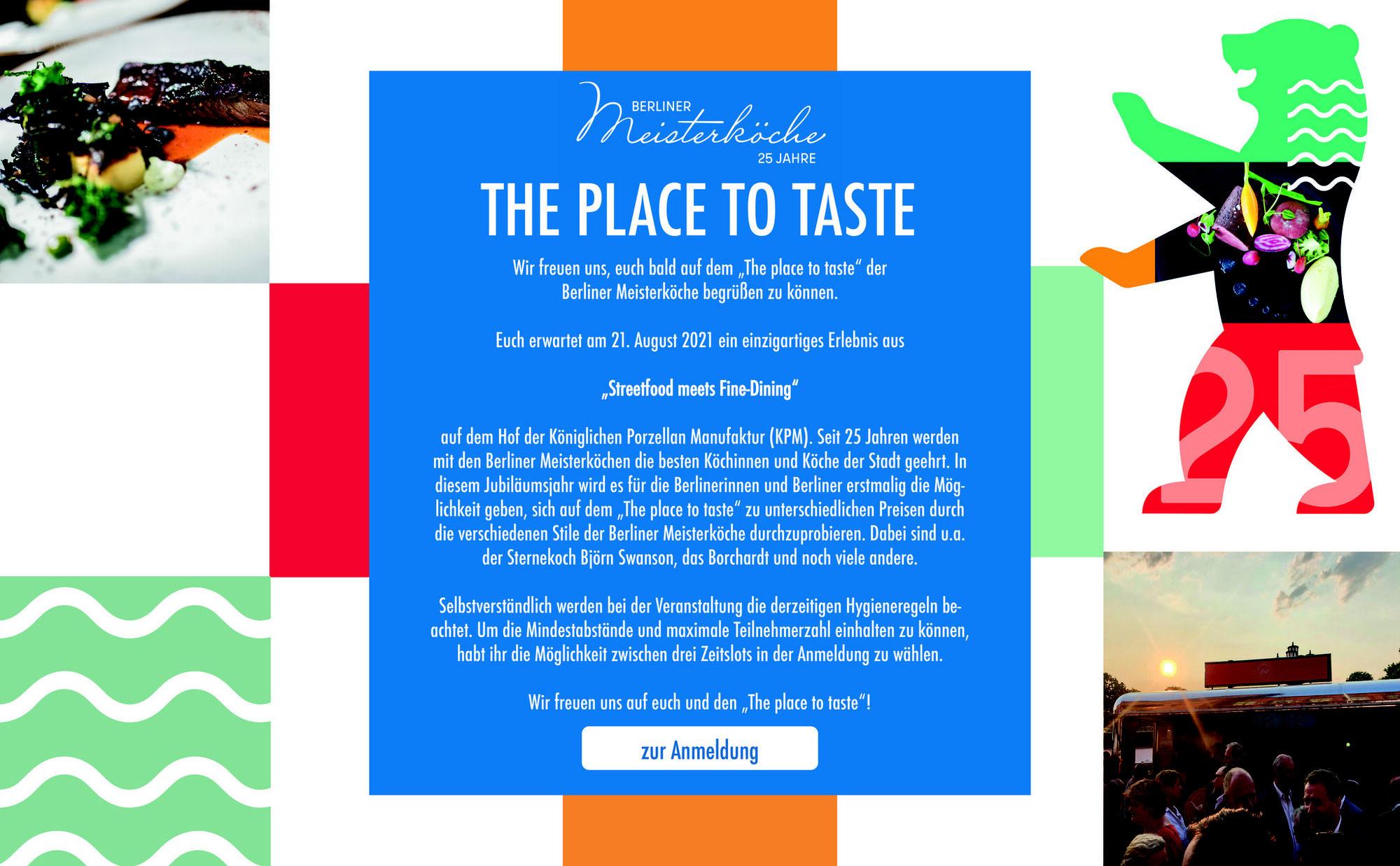 Berliner Meisterköche: Place to taste