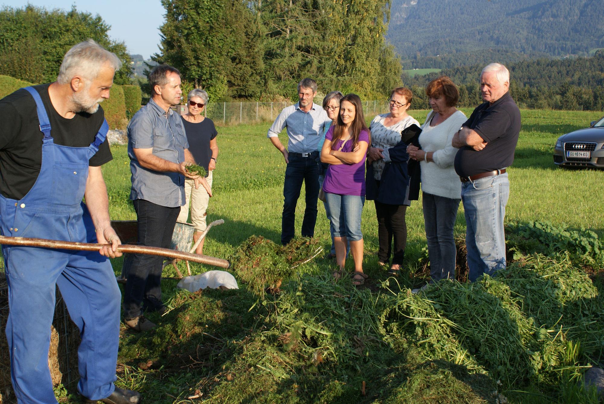 Kompost Workshop mit Gerald Dunst