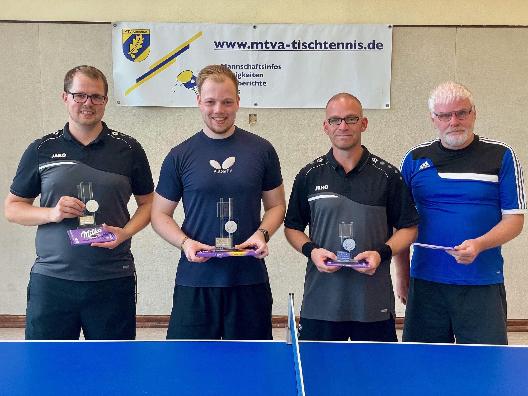 Marcel Heuser neuer Tischtennis Vereinsmeister 2021