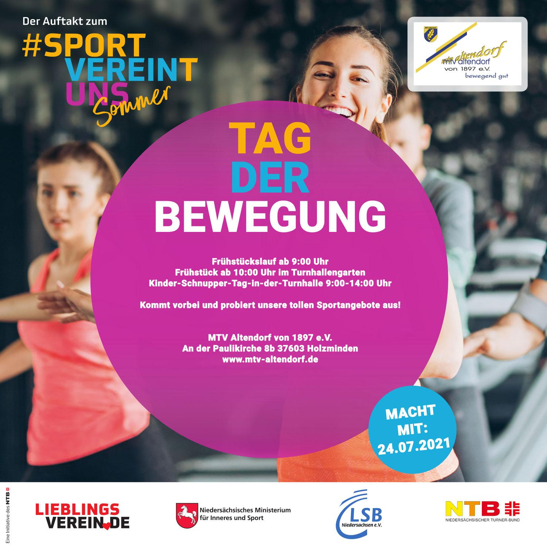#sportvereintuns Sommer beim MTV Altendorf!