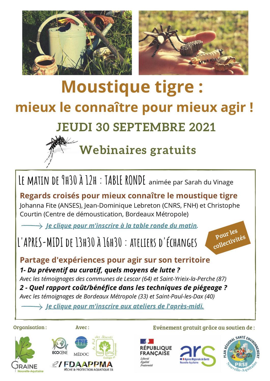 Webinaires moustique tigre