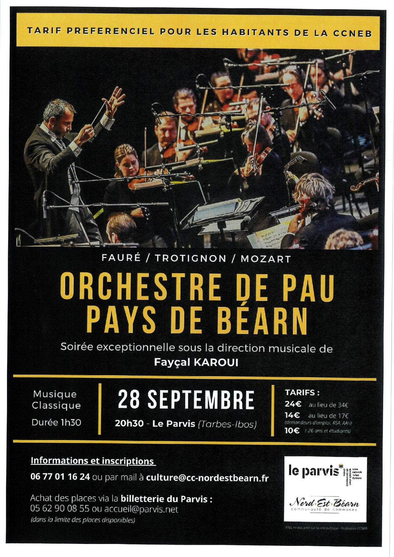 Orchestre de Pau Pays de Béarn