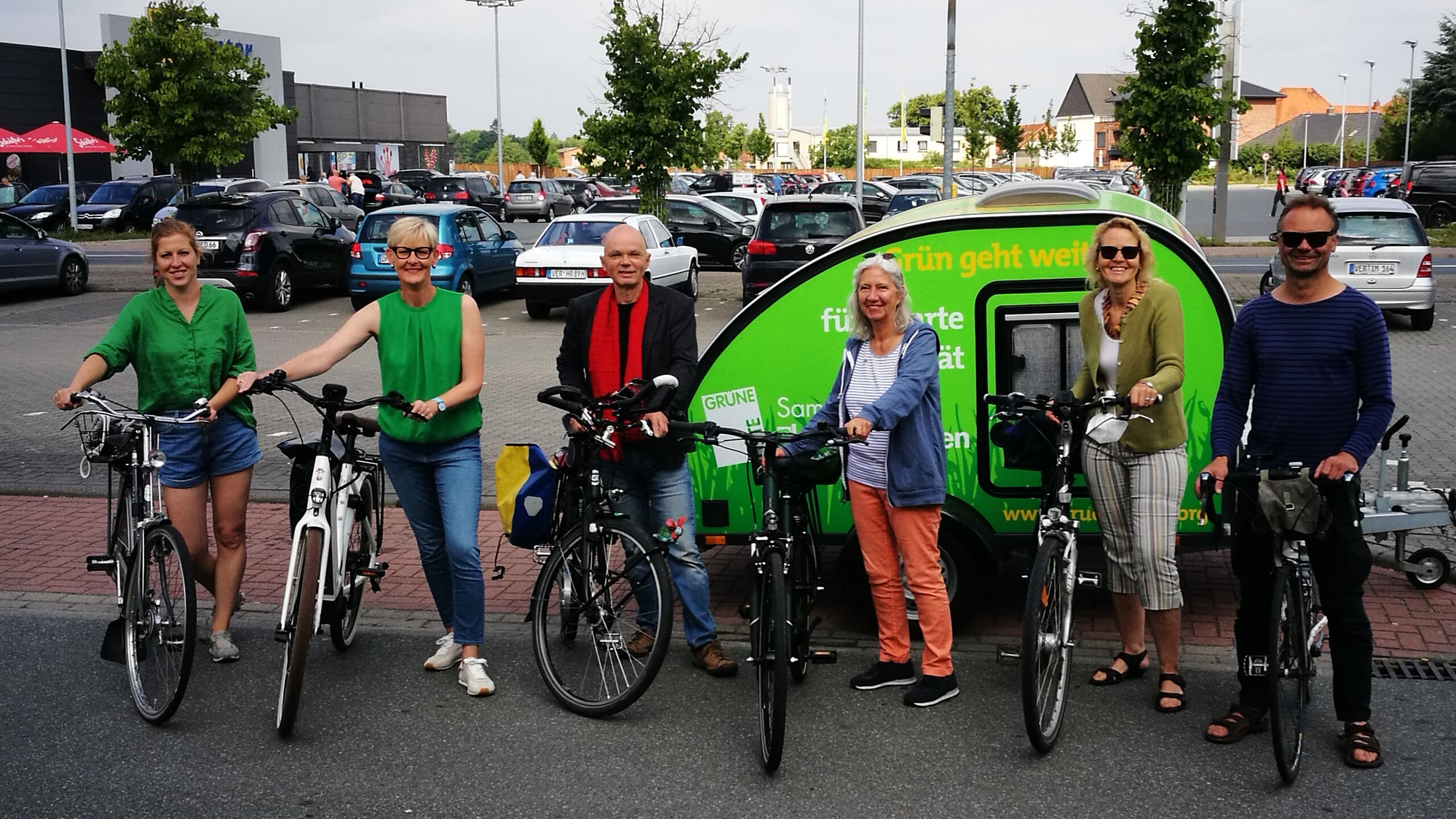 Kandidat*innen-Radtour Thedinghausen
