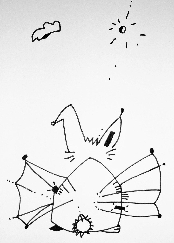 Der kleine Hase und das Azurit