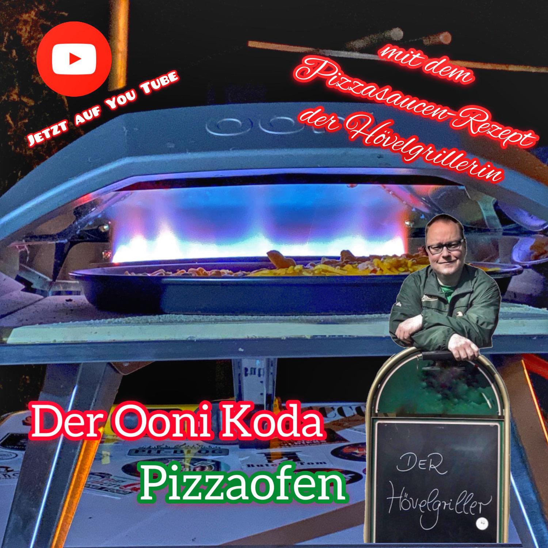Der Ooni Koda Pizzaofen