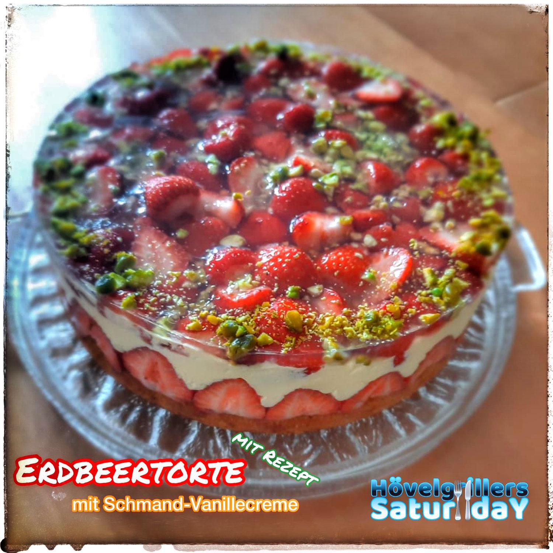 Erdbeertorte mit Schmand-Vanillesauce (23)